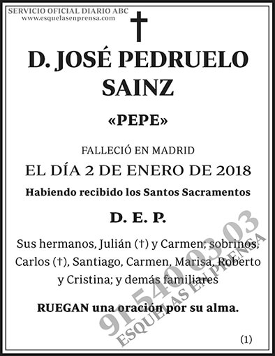José Pedruelo Sainz